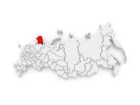 pic of murmansk  - Map of the Russian Federation - JPG