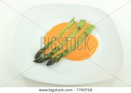 Backed Asparagus.