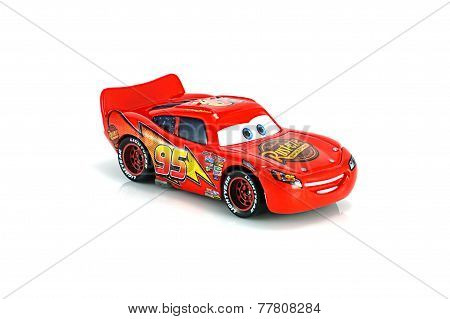 Lightning Mcqueen Main Protagonist Of The Disney Pixar Feature Film Cars.