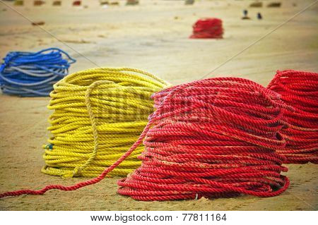 Colourful Fishing Ropes