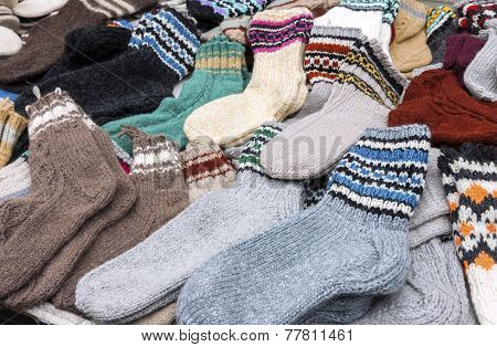 Colorful Woolen Socks