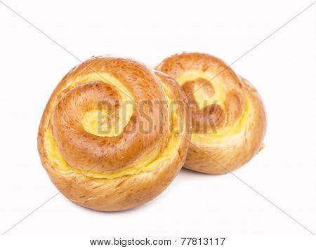Three buns
