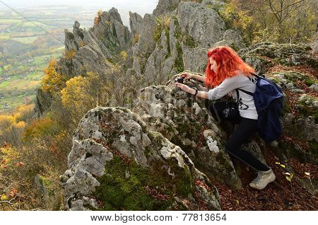 Redhead Photographer Girl