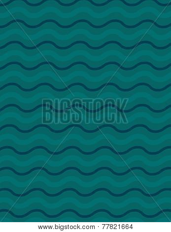Wavey Line Background Pattern