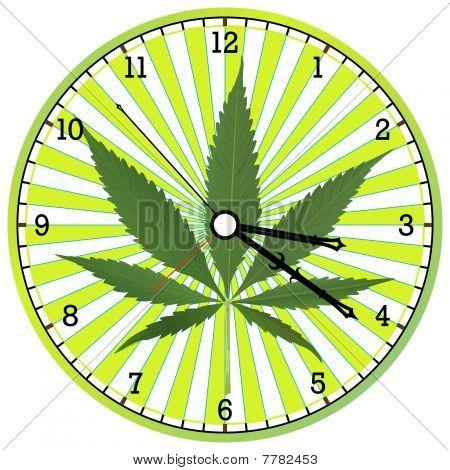 Cannabis Clock