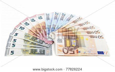 Banknotes As A Fan