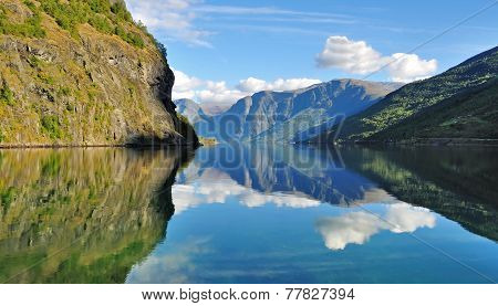 Scenic View Of Fjords In Norway