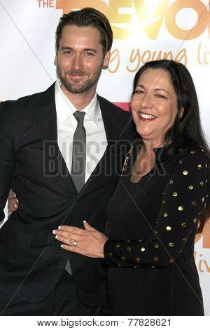 Photo of Ryan Eggold & his  Mother  Karen Benik