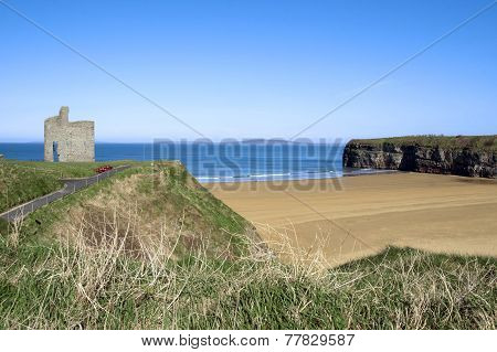 Path And Benches To Ballybunion Beach