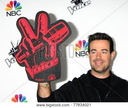 LOS ANGELES - DEC 8:  Carson Daly at the NBC's