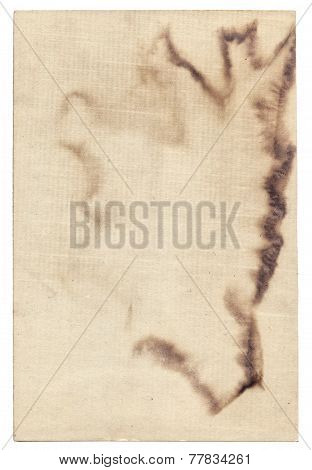 Old Photo Paper Texture With Stains