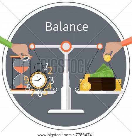 Time is money. Management concept