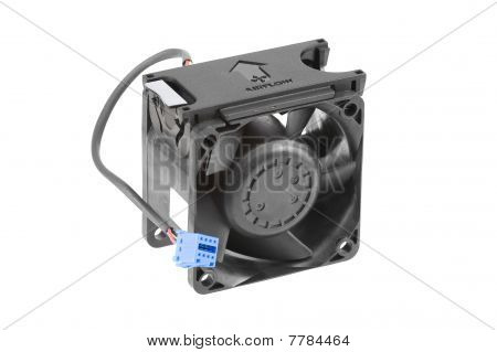 Black Plastic Cooling Fan
