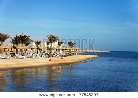 Beach On The Bank Of The Southern Sea