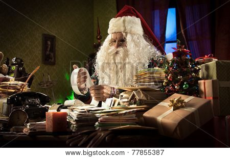 Santa Claus And Tax Troubles