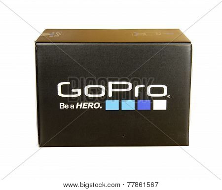 Gopro Hero 4 Silver Camera In A Box