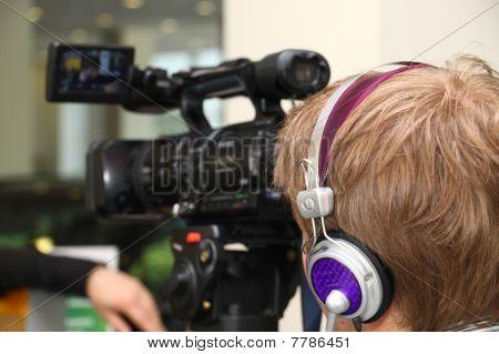 Cinegrafista profissional