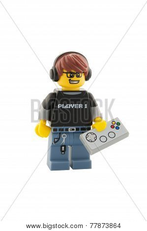 Video Game Guy Minifigure