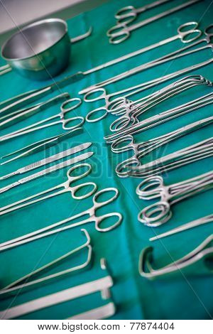 Lot Of Surgical Instruments