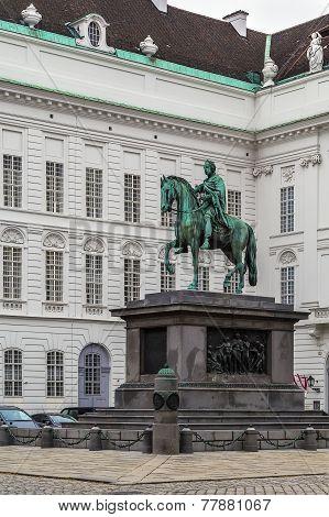 Monument To Emperor Joseph Ii, Vienna