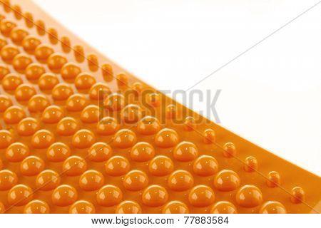 Raised plastic bumps texture background