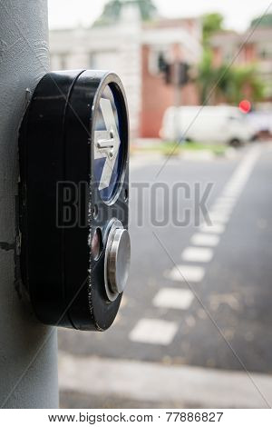Pedestrian Walk Traffic Lights Switch