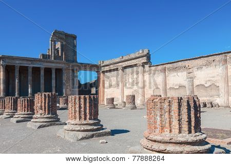 Pompeii On A Sunny Day