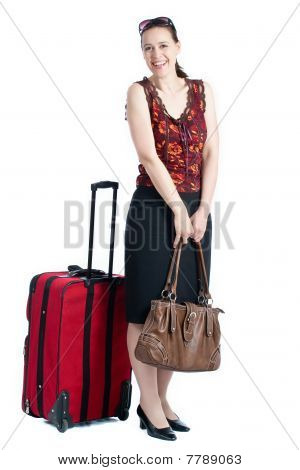 A Young Female Traveller