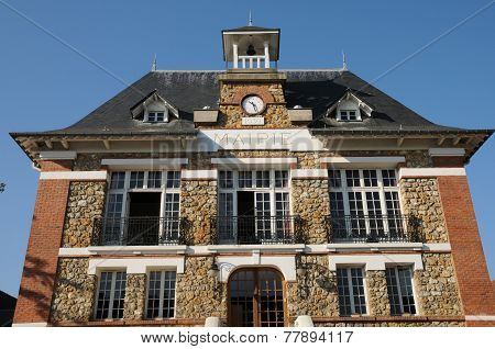 France, The City Hall Of Vernouillet In Les Yvelines