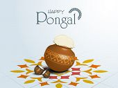 pic of pongal  - South Indian harvesting festival - JPG