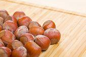 pic of filbert  - Bunch of hazelnuts - JPG