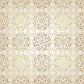 picture of brocade  - Vector seamless pattern in Victorian style - JPG