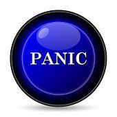 foto of panic  - Panic icon - JPG