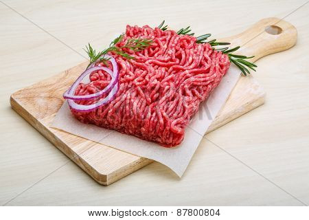 Raw Beef Minced Meat