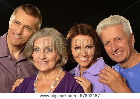 portrait with senior parents