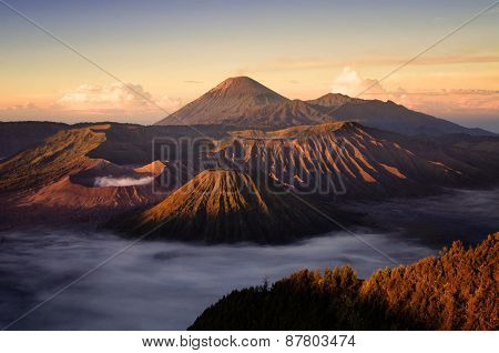 Bromo Volvano In Indonesia