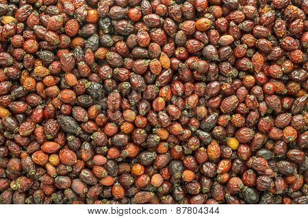 Dried Berries Background
