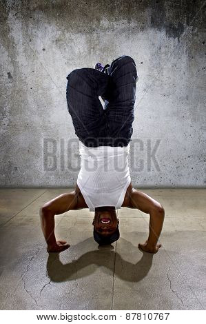Inverted Urban Break Dancer