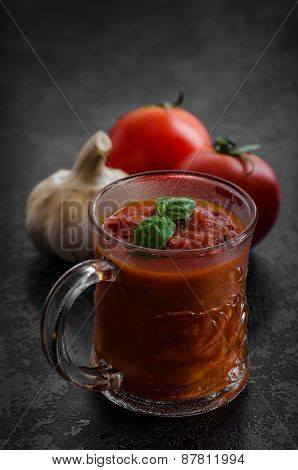 Tomato Hot Salsa - Prepare For Pasta