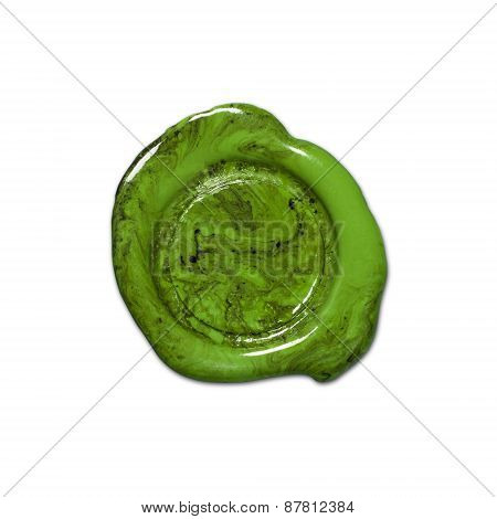 Green Lacquer Seal