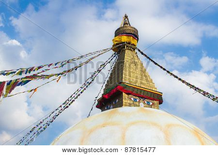 The Stupa at Boudanath