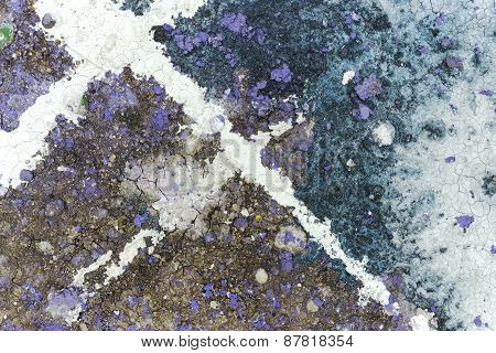 Mixed Media Abstract Background