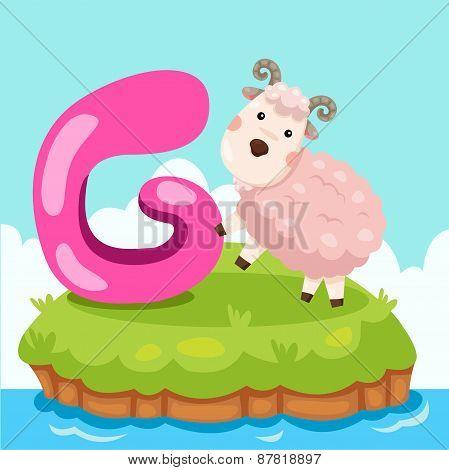 Illustrator of Letter 'G is for goat'