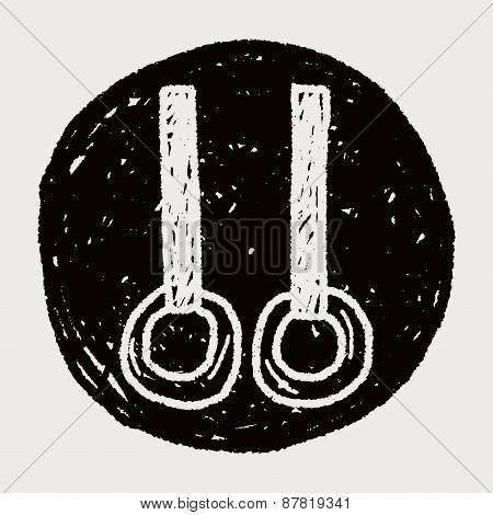 Gymnastics Rings Doodle