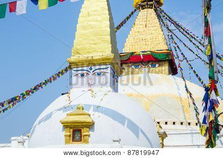 Stupa at Boudanath