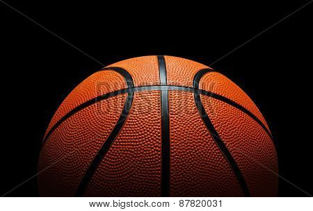 Basketball Against Black