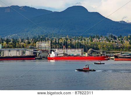 Sea port of North Vancouver