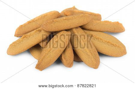 Pile Of Shortbread Cookies