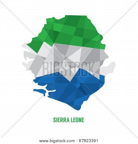 Map Of Sierra Leone.