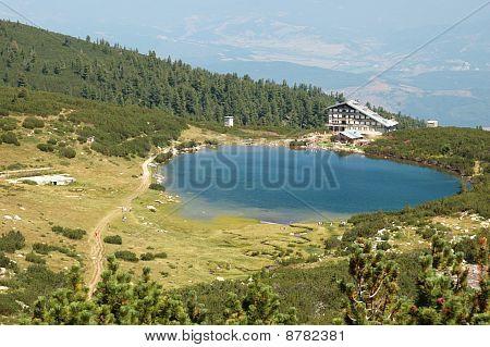 View Of  Lake Bezbog In National Park Pirin ,bulgaria